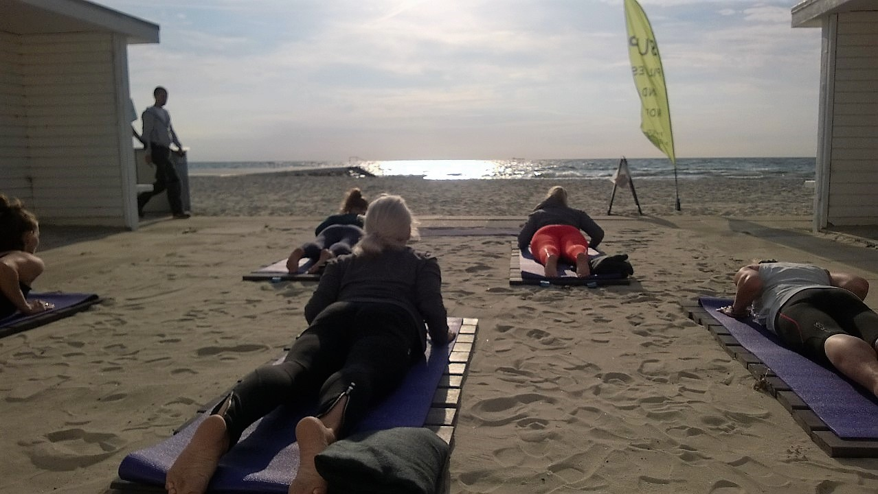 BEACH PILATES BELLEVUE STRAND - Pilates i Ordrup, Charlottenlund. Pilates and More