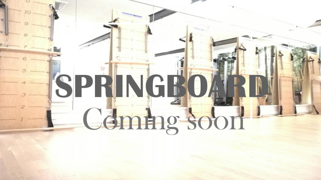 Springboard hos Pilatesandmore